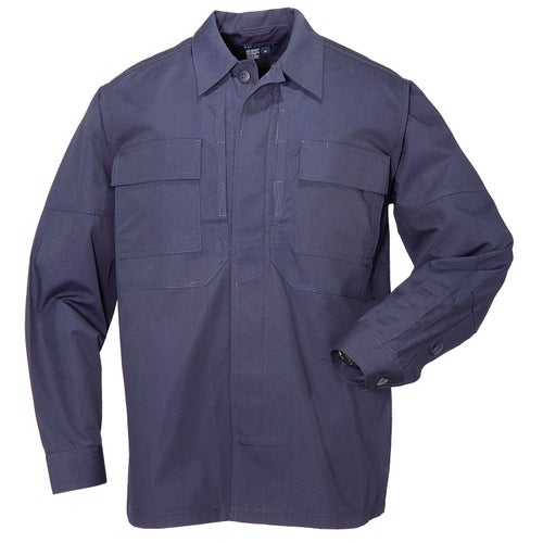 5.11 Tactical Taclite TDU Long Sleeve Shirt - Dark Navy