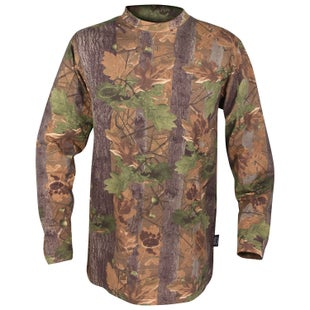 Jack Pyke JP Long Sleeve T Shirt - English Oak