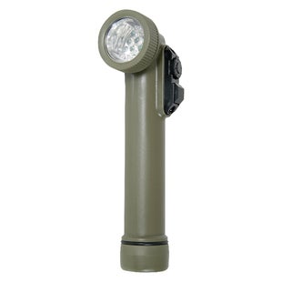 Web-Tex LED Angle Torch - Olive Green