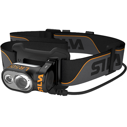 Silva Headlamp Lr500 Rc Head Torch - Black