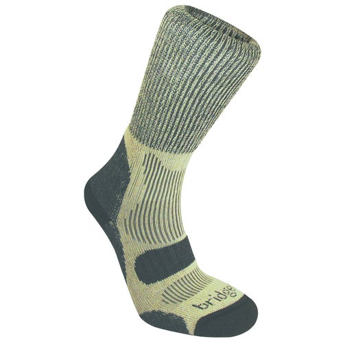 Bridgedale Hike Lightweight Cotton Cool Comfort Outdoor Socks - Charcoal