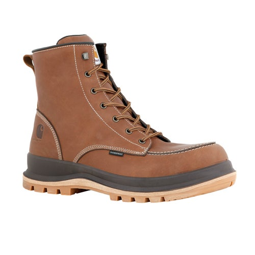 Carhartt Hamilton S3 Waterproof Wedge Boot Safety Boots - Tan