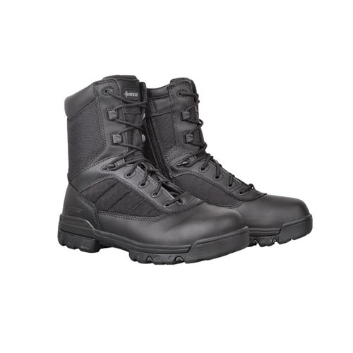 Bates Sport Tactical 8 Inch Side Zip Boots - Black