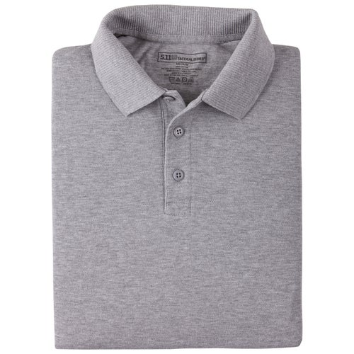 5.11 Tactical Utility Polo Shirt - Heather Grey