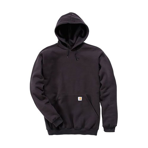 Carhartt Midweight Hooded Jacket - Black