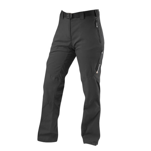 Montane Terra Ridge Reg Leg Womens Pants - Black