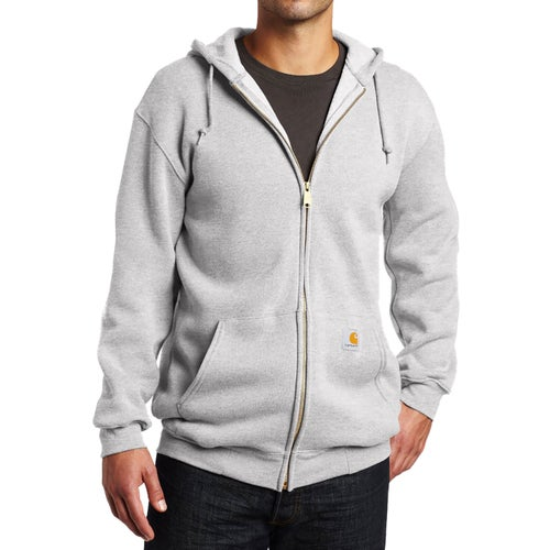 Carhartt Midweight Hooded Jacket - Heather Grey