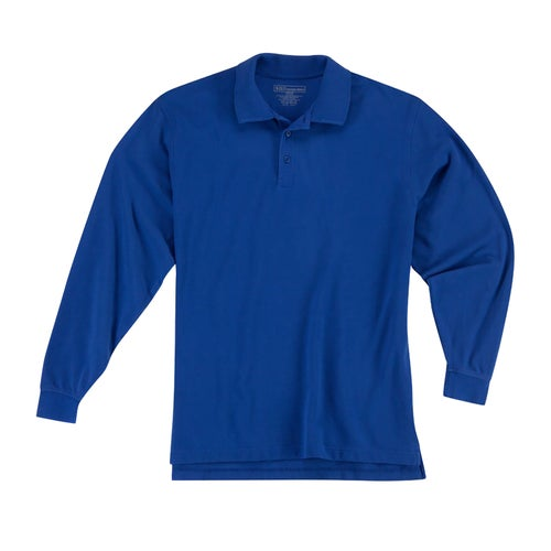 5.11 Tactical Professional LS Polo Shirt - Academy Blue