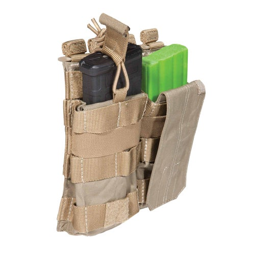 5.11 Tactical Double AR Mag Bungee-Cover Mag Pouch - Sandstone