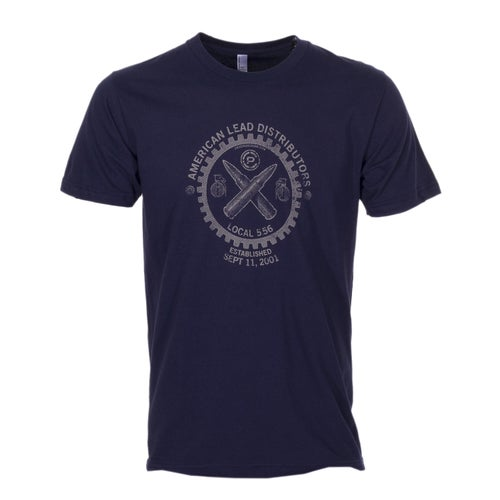 Crye Precision Lead Union Short Sleeve T-Shirt - Navy