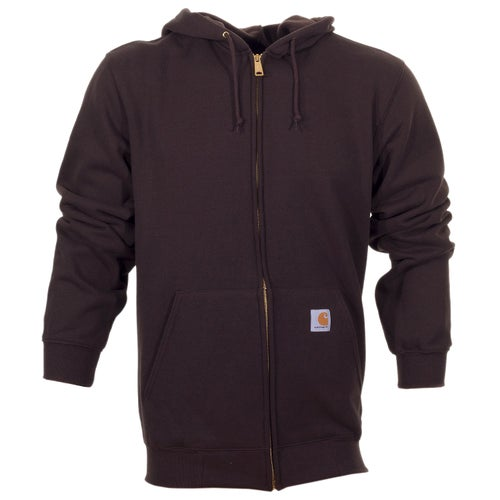 Carhartt Midweight Hooded Jacket - Dark Brown