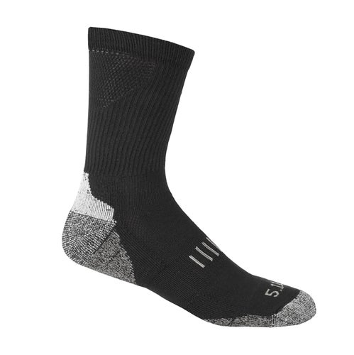 5.11 Tactical All Year Crew Socks - Black