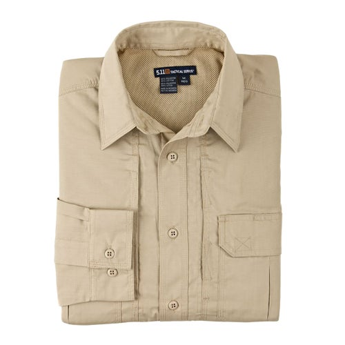 5.11 Tactical Taclite Pro Womens Long Sleeve Shirt - TDU Khaki