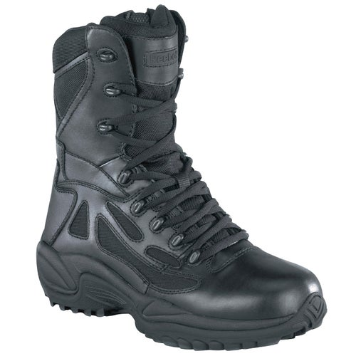 Reebok Military Rapid Response 8in Side Zip Boots