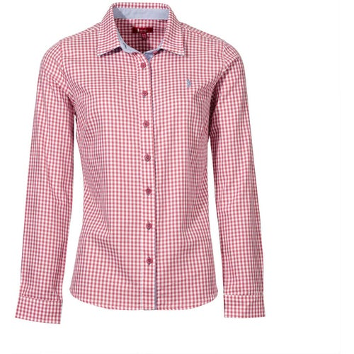 c3a4726b738 Jack Murphy Claire Classic Ladies Shirt - Rosewater Check