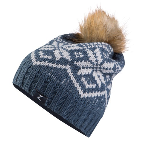 ec138b192d23 Horze Monika Snowflake Hat - Indian Teal