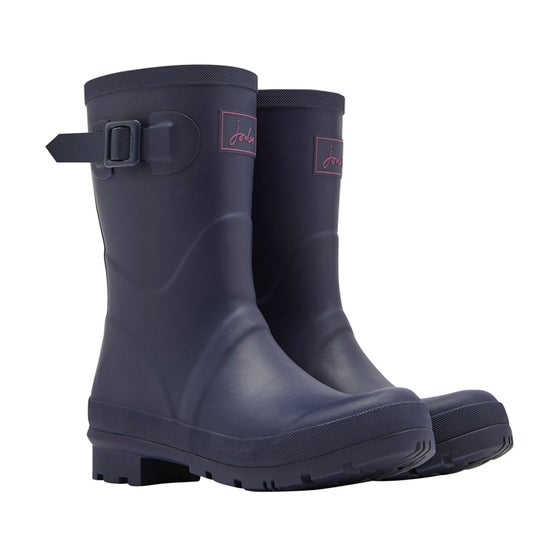 f317ecf0db3a Joules Kelly Mid Height Dame Wellies - Navy