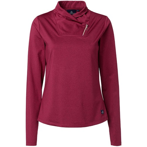 Mountain Horse Ayla Tech Top Burgundy Melange