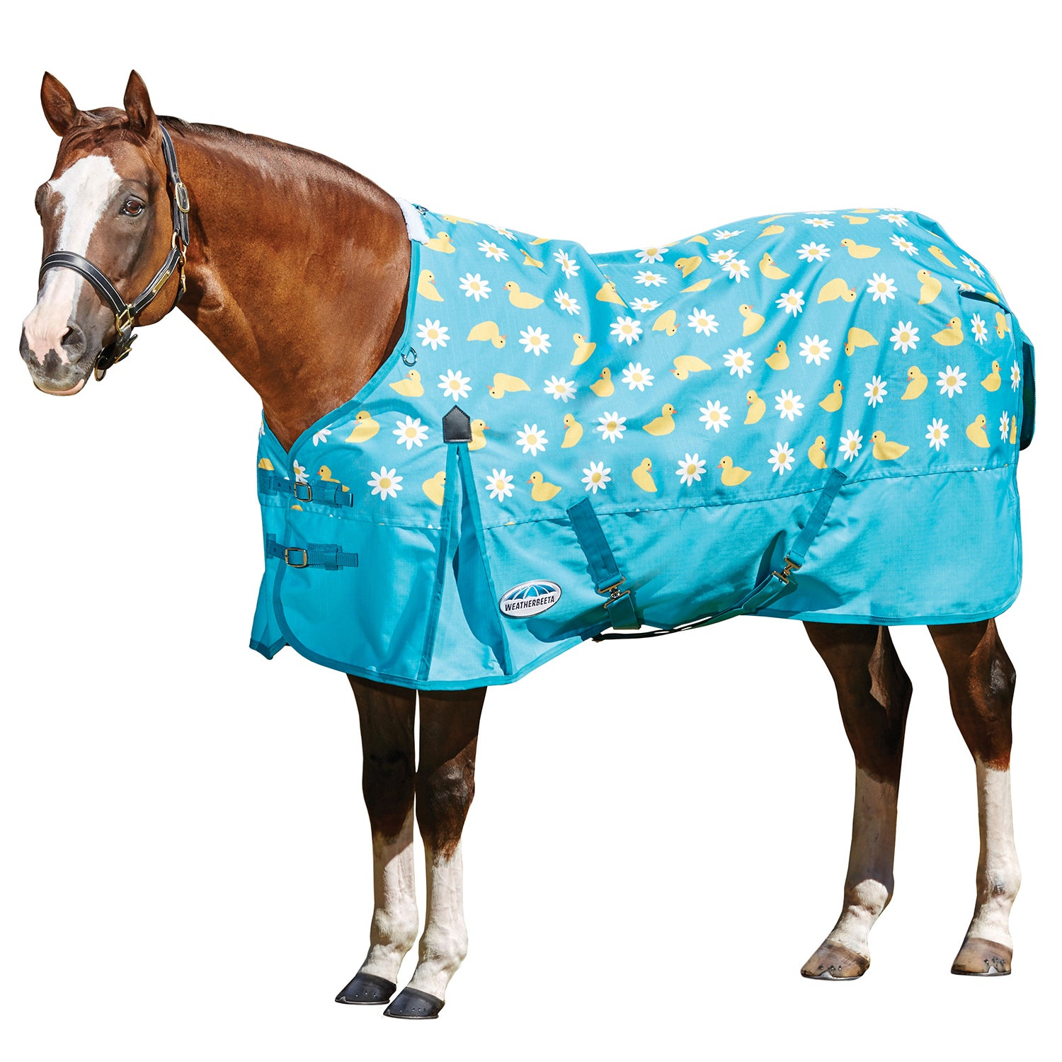 Weatherbeeta ComFiTec Classic Combo Lite Turnout Rug 4ft red//silver//navy