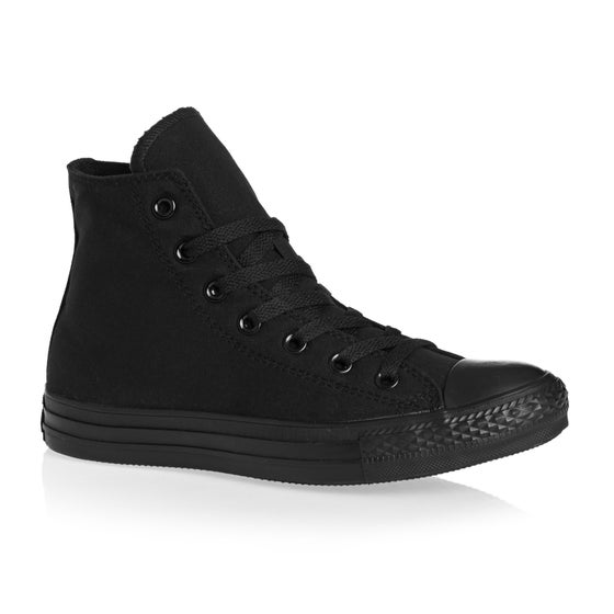 aa37344b857b Converse. Converse Chuck Taylor All Stars Hi Shoes - Black Mono