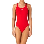 Speedo Endurance Medalist Womens Swimsuit - Fed Red