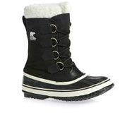 Sorel Winter Carnival Faux Fur Boots - Black Stone