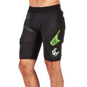 Demon FlexForce X D30 Impact Shorts - Black