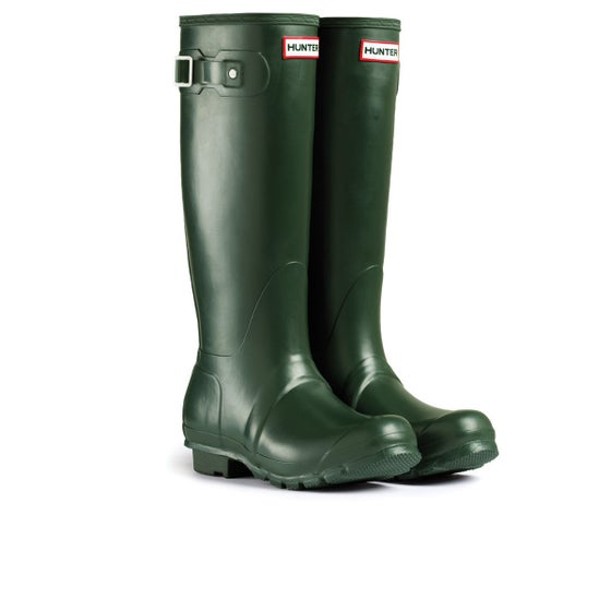 817794a2676862 Hunter. Hunter Original Tall Gummistiefel - Dark Olive