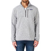 Patagonia Better Quarter Zip Fleece - Stonewash