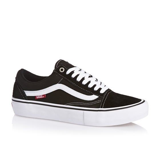 Vans Old Skool Pro Shoes - Black White e0788ce0c