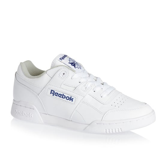 c8f3533b63ba62 Reebok Classics Workout Plus Shoes - White Royal