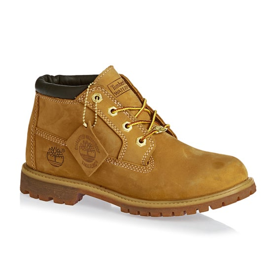 1eb5ffa3537 Botas de andar Mujer Timberland Earthkeepers Nellie Chukka Double WTPF -  Wheat Yellow