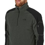 North Face Glacier Delta Quarter Zip Fleece