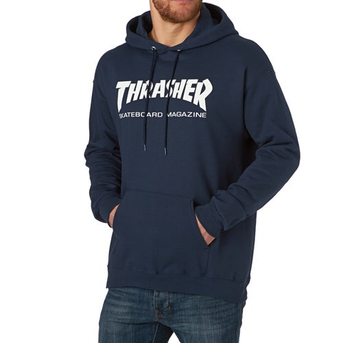 Thrasher Skate Mag Hood Pullover Hoody available from Surfdome 67b983cb1015
