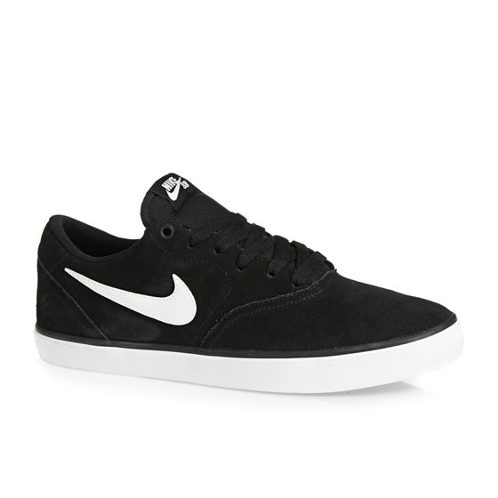 2afc13402868 Nike SB. Sapatos Nike SB Check Solarsoft - Black White