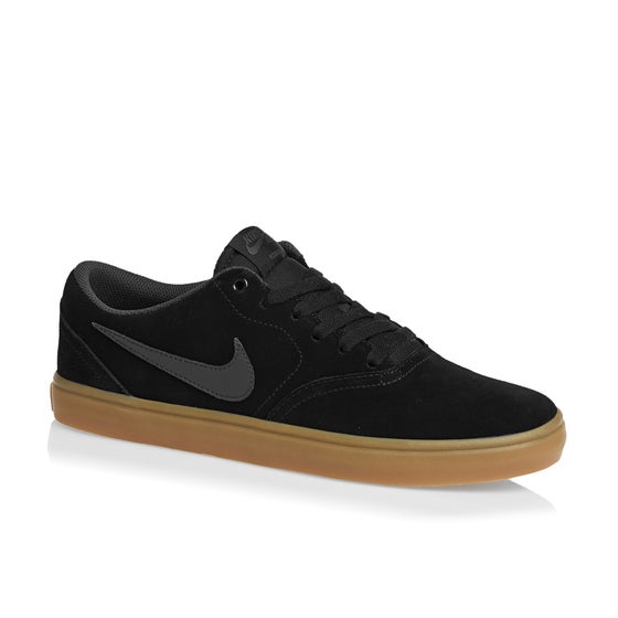 6ded1bc72af28b Calzado Nike SB Check Solarsoft - Black Anthracite Gum Dark Brown
