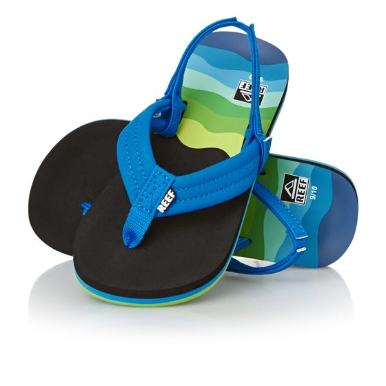 b00b3b9c56dc Reef. Reef Ahi Kids Sandals - Aqua Blue