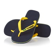 Navy Blue Citrus Yellow