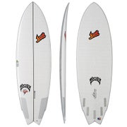 Lib Tech X Lost Round Nose Fish Redux Surfboard - Clear