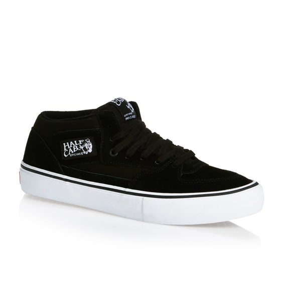 Vans Half Cab Pro Shoes - Black Black White efac60af7