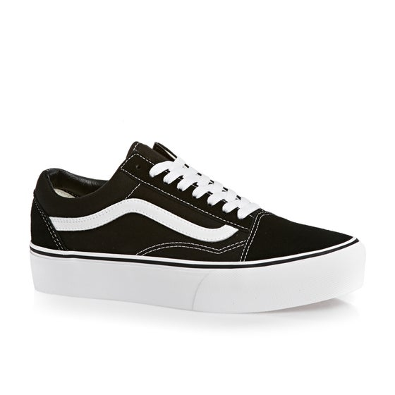 Vans. Vans Old Skool Platform Shoes - Black White 9c94d4b48