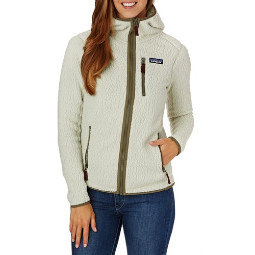 Patagonia Womens Retro Pile Hoodie Womens Fleece available from Surfdome 574196713