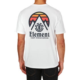 Camiseta de manga corta Element Tri Tip - Optic White 1e1ec6c58354b