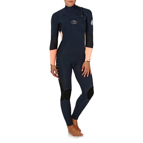 Rip Curl Womens Flashbomb 4 3mm 2018 Chest Zip Womens Wetsuit ... 80a788820