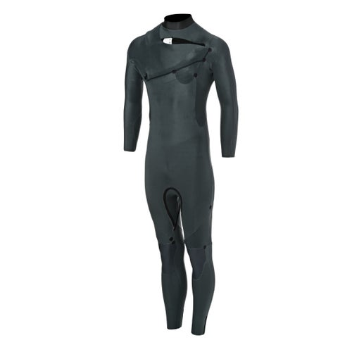 f125b0caa8 Quiksilver 4-3mm 2018 Syncro Chest Zip Wetsuit available from Surfdome