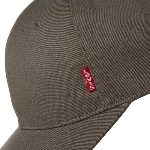 Levis Classic Twill Red Tab Cap available from Surfdome 9f3fed793159