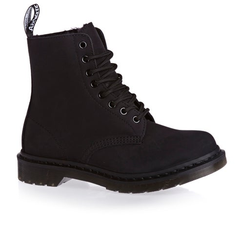 Dr Martens Pascal Fur Lined Womens Boots available from Surfdome b5412bf944e0