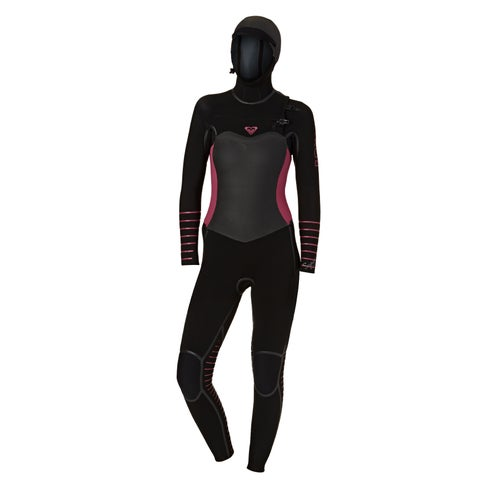 633ff141ad Roxy 5 4 3mm 2018 Womens Syncro Plus Hooded Chest Zip Womens Wetsuit ...