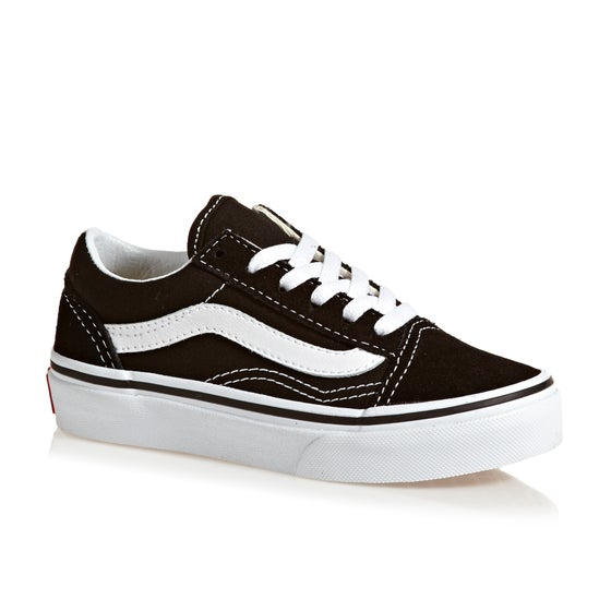 9bc6bc6c7a6 Vans. Vans Old Skool Kids Shoes - Black ...