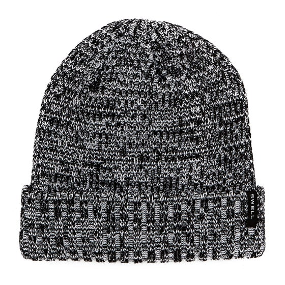 20d0152b33c SWELL Basic Cuff Beanie - Salt and Pepper